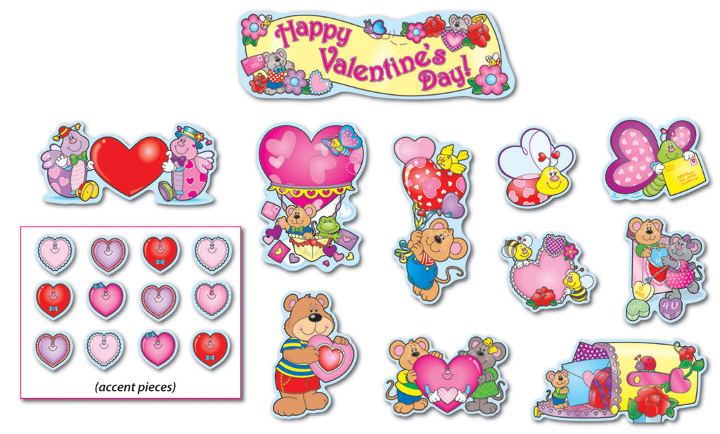 Valentine's Day Mini Bulletin Board Set