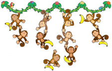 Monkey Bulletin Board Set
