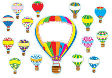 Hot Air Balloons Bulletin Board Set