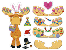 Carson Dellosa Celebrate with Moose & Friends Bulletin Board Set