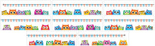 Colorful Owls Number Line Bulletin Board Set