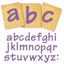 Ellison® SureCut Die Set - Lollipop Alphabet, Lowercase Letters, 4 Inch