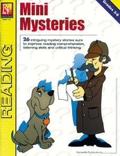 Remedia Publications Mini Mysteries Reading Activity Book