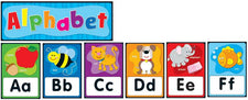 Alphabet Quick Stick Bulletin Board Set