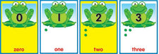 Numbers 0-30 Quick Stick Bulletin Board Set