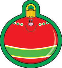 Carson Dellosa Christmas Ornament Mini Cut-Outs