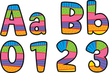 Poppin' Patterns Playful Patterns Designer Letters