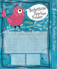 Substitute Teacher Folder: Song Bird