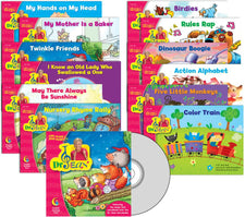 Dr. Jean Variety Pack with CD, PreK-1