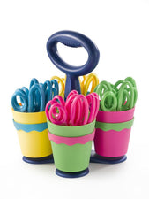 Westcott Scissor Caddy With 24 Pointed Scissors