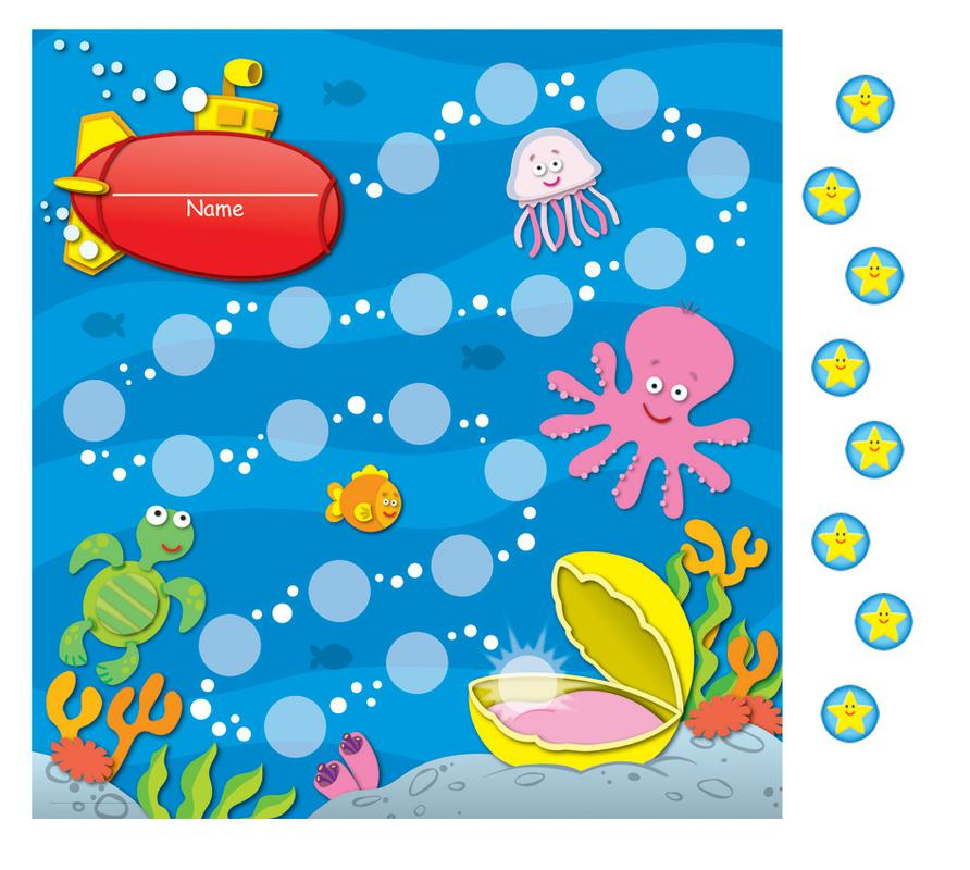 Sea Life Mini Incentive Charts