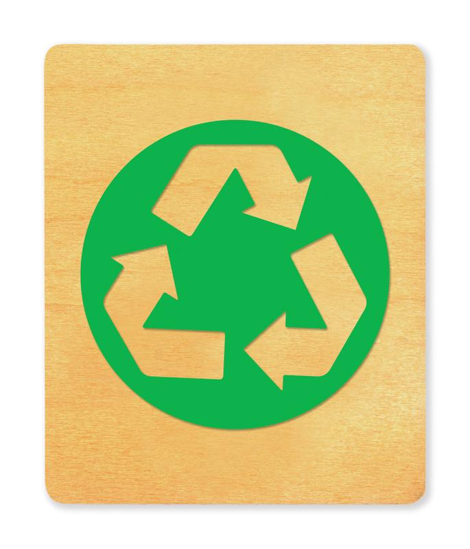 Ellison® SureCut Die - Recycle Symbol, Large
