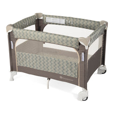 Foundations® SnugFresh® Elite™ Portable Play Yard Crib, Sahara