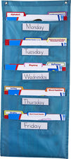 File Folder Storage: Teal Pocket Chart