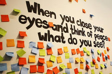 When You Close Your Eyes... - MLK Day Bulletin Board