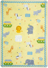 "Simply Noah© Kid's Play Room Rug, 3'10"" x 5'4"" Rectangle"
