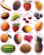 Fruit: Photographic Realistic Stickers