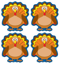 Turkeys Shape Stickers