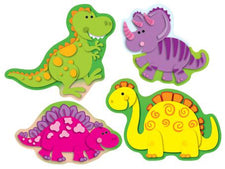 Dinosaurs Shape Stickers