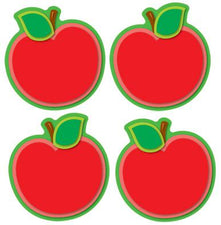 Apples Shape Stickers, 72 Pk