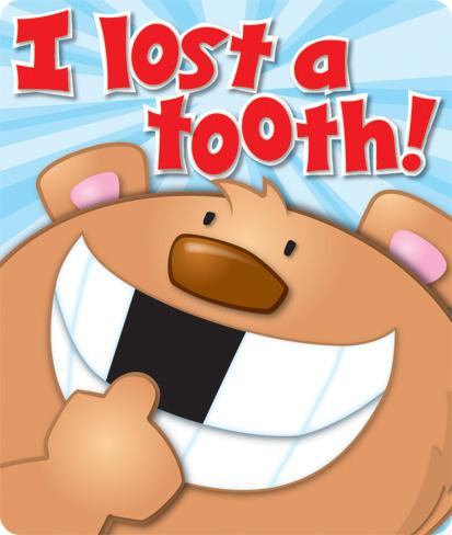 I Lost a Tooth Motivational Stickers