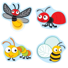 """Buggy"" for Bugs Shape Stickers"