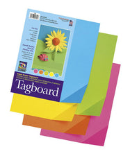 "Colorwave® Super Bright Tagboard, 9"" x 12"" Assorted"