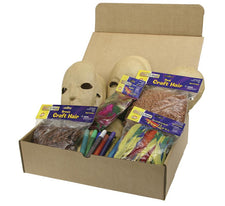 Papier Mache Mask Activities Box - 12 Masks