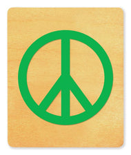Ellison® SureCut Die - Peace Sign, Large