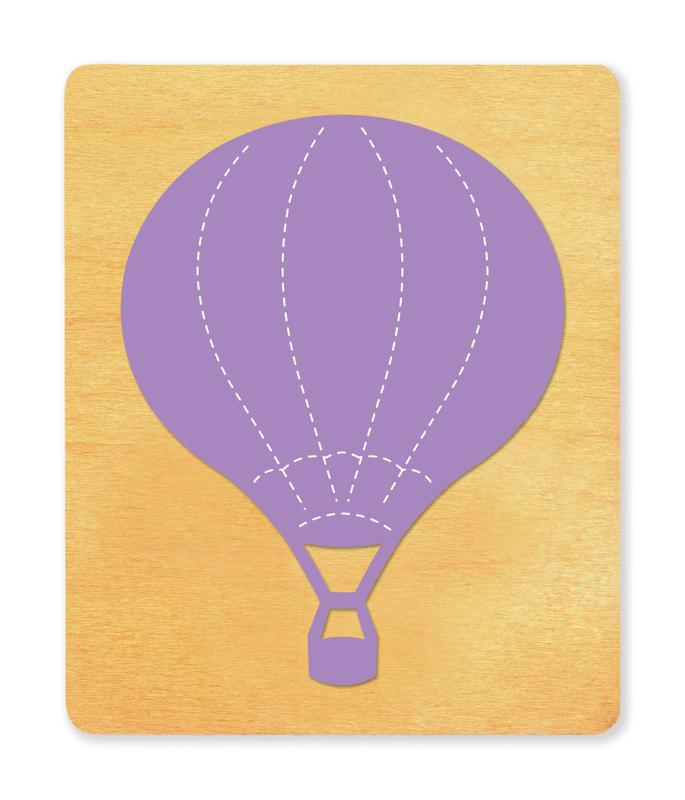 Ellison® SureCut Die - Hot Air Balloon, Large