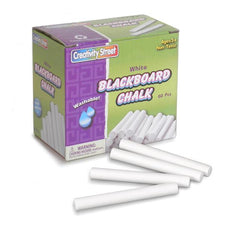 White Chalkboard Chalk - 60 Pieces