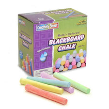 Blackboard Chalk - 60 Pieces - Assorted Colors