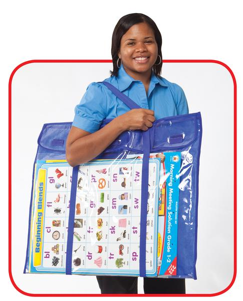Deluxe Bulletin Board Storage Bag Cd 180000 Supplyme