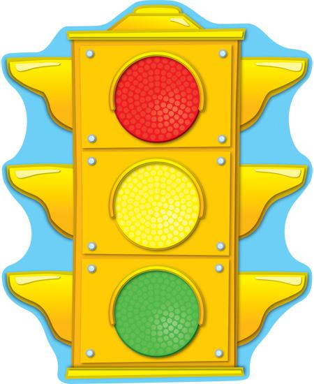Stoplight Two-Sided Decorations