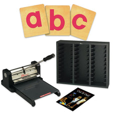 Ellison® Prestige Pro Starter Set with SureCut Block Lowercase Letters, 4 Inch