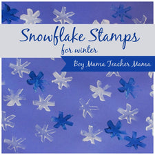 Guest Post - Snowflake Stamps for Winter!