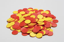 200 Plastic Two-Color Counters