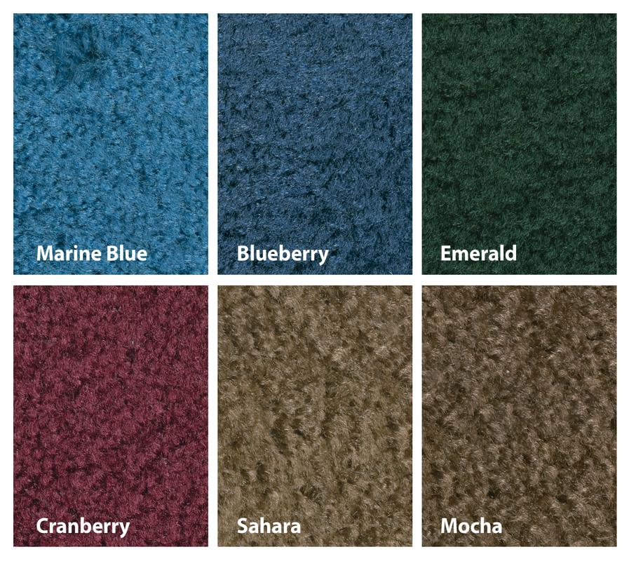 "Mt. St. Helens Solid Marine Blue Classroom Rug, 8'4"" x 12' Rectangle"