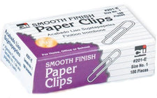 Paper Clips #1 Gem, 100 Per Box