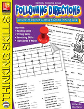 Remedia Publications Critical Thinking Skills Activity Book: Following Directions