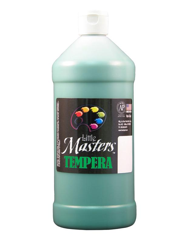Little Masters Green 32 Oz Tempera Paint