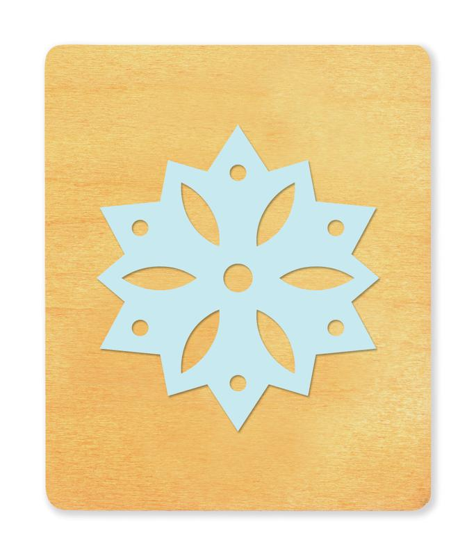 Ellison® SureCut Die - Snowflake (Basic Beginnings), Large