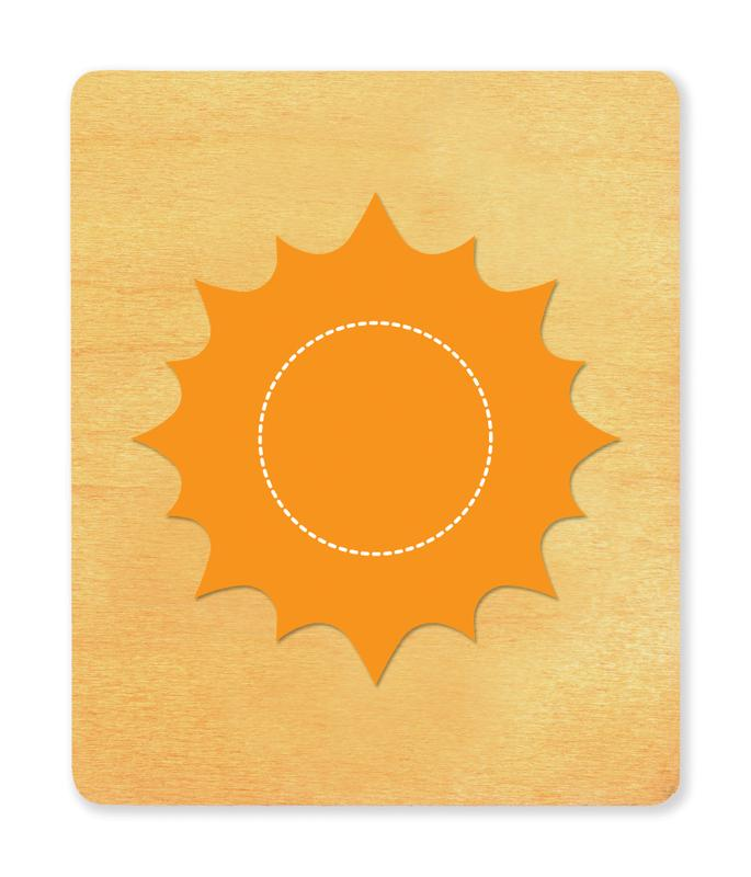 Ellison® SureCut Die - Sun (Basic Beginnings), Large