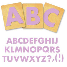 Ellison® SureCut Die Set - Fruit Smoothie Alphabet, Capital Letters, 4 Inch