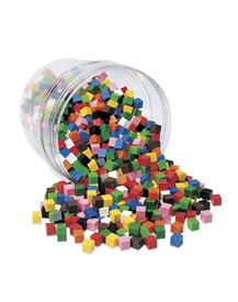 Centimeter Cubes, Set of 1000