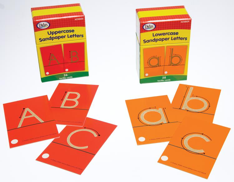 Tactile Alphabet Lowercase Sandpaper Letters