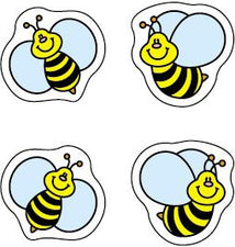 Bees Chart Seal Stickers