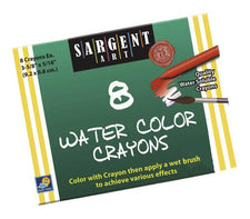 Sargent Art Watercolor Crayons 8Count