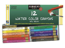 12 Count Watercolor Crayon