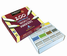 200 Broad Tip Washable Markers Classpack